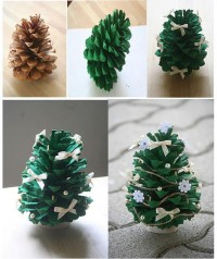 DIY Pine Cone Christmas Tree DIY Projects | UsefulDIY.com