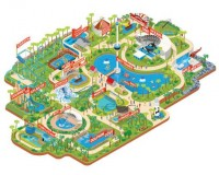Design Work Life » Radio: Sea World Orlando Maps