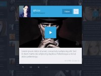Twitter redesign concept on Web Design Served