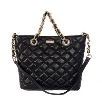 Buy Kate Spade New York Gold Coast Lilou Quilted Shoulder Tote Bag Black