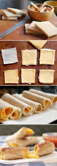 DIY Grilled Cheese Roll DIY Projects | UsefulDIY.com