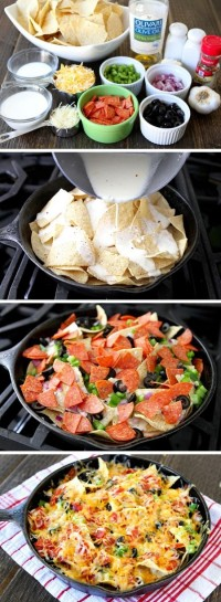 Pizza Nachos Food Pix | Recipe by Picture