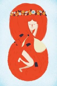 Foxy Lady Art Print by Wharton | Society6