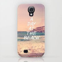 A day at the beach iPhone & iPod Case by pascal+ | Society6