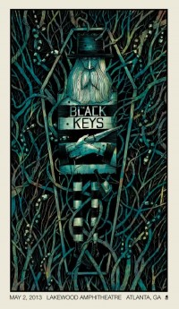 OMG Posters! » Archive » The Black Keys Concert Poster by Methane Studios
