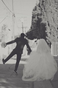 Creative Wedding Photo Ideas ? Black and White Wedding Photo ? Happily Ever After #902108 | Weddbook