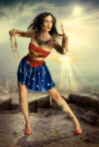Wonderwoman by =CindysArt