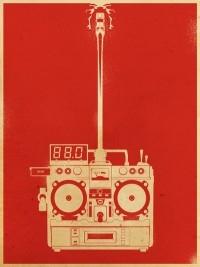 DesignersMX: 88mph Art Print by people do