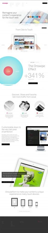 DesignersMX: Onswipe by JeremyMitchell