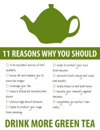 Best of Fitness / Green tea is amazing