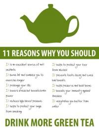Best of Fitness / Green tea is amazing