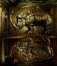 Mechanical 3D Digital Art by Kazuhiko Nakamura | inspirationfeed.com