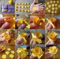 DIY Clay Biscuit Rose DIY Projects | UsefulDIY.com