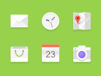 Android Icons Set by Raul Taciu