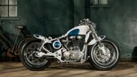 Bike EXIF - Google+ - A bobber-inspired take on the Royal Enfield Bullet Electra,…