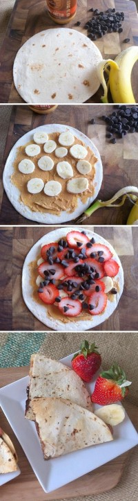 Dessert Quesadillas Food Pix | Recipe by Picture