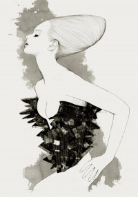 Fashion Illustrations by Will Ev | Cuded