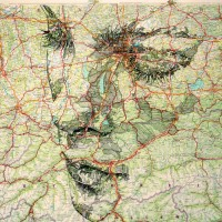 Striking Map Portraits by Ed Fairburn | inspirationfeed.com