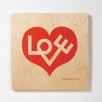 Fab.com | Love Heart Panel Large