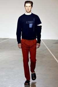 Tim Coppens Spring 2013 Menswear Collection Slideshow on Style.com
