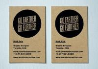 Büromarks - typethatilike: Mark Bain Business Cards ...