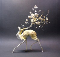 Petal deer by *creaturesfromel