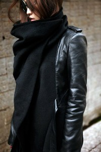 Cool-style (styletrove: TREND LOVE: Cowl collared wool &...)