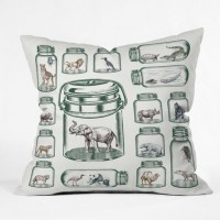 DENY Designs Home Accessories | Belle13 Endangered Species Preservation Outdoor Throw Pillow