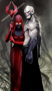 hordak and shadow weaver by *nebezial