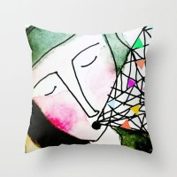 Truth is more colorful than fiction Throw Pillow by Sreetama Ray | Society6