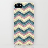 Speckled Chevron iPhone & iPod Case by Belle13 | Society6