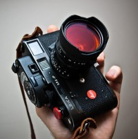 Leica M4-P with orange filter | Flickr - Photo Sharing!