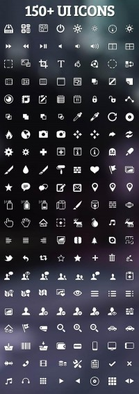 150+ Beautiful UI Icons for Designers | Icons | Graphic Design Junction