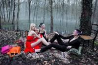 The Libertine Magazine. 'Secret Garden Of Versailles'. Daria Strokous And Others By Inez Van Lamsweerde + Vinoodh Matadin For Dior .May 2013. 2   The Libertine