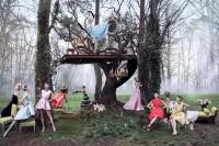 The Libertine Magazine. 'Secret Garden Of Versailles'. Daria Strokous And Others By Inez Van Lamsweerde + Vinoodh Matadin For Dior .May 2013. 1   The Libertine