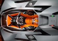 Lamborghini Egoista Concept Interior - Car Body Design