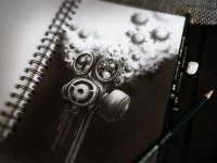 Sketchbook Drawings and Illustrations by PEZ | inspirationfeed.com