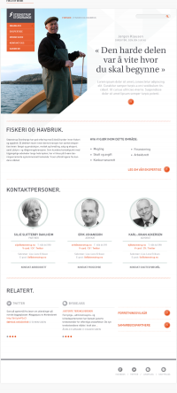 Steenstrup Stordrange on Web Design Served