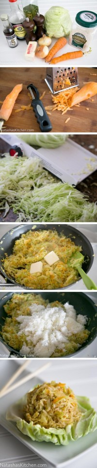 Cabbage Fried Rice Food Pix | Recipe by Picture