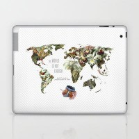 THE WORLD IS NOT ENOUGH Laptop & iPad Skin by Belle13 | Society6