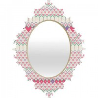 DENY Designs Home Accessories | Belle13 Love Pattern Baroque Mirror