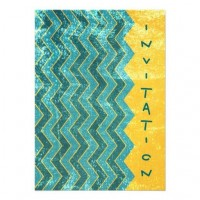 Gold Chevron - Birthday Invitation from Zazzle.com