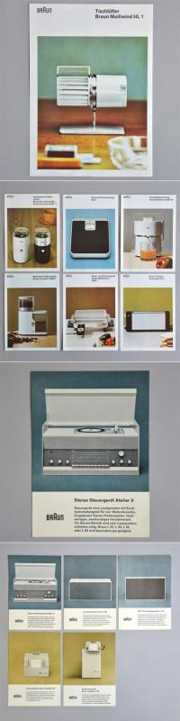 DesignersMX: Braun Brochures by BlakeAllen