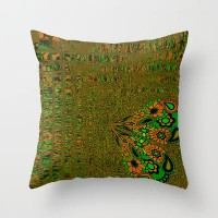 Glitchen Kitchen Throw Pillow by Nina May | Society6