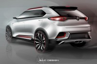 MG CS Concept Design Sketch - Car Body Design