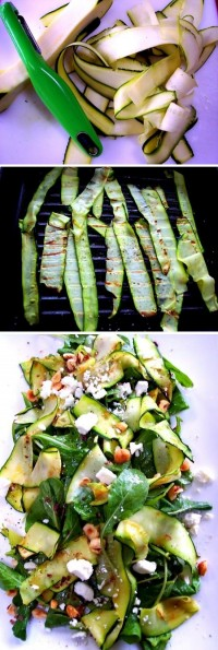 Zucchini Ribbon Salad Food Pix | Recipe by Picture
