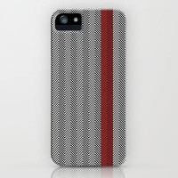 Red Line - Hypnotizing Chevron iPhone & iPod Case by Belle13 | Society6