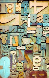 Typeverything.com - Weathered Beach Numbers. ... - Typeverything