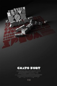 CHATO FONT on Typography Served