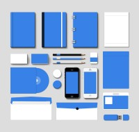 Corporate Branding Mockup Vol.1 (PSD) | GraphicsFuel.com
